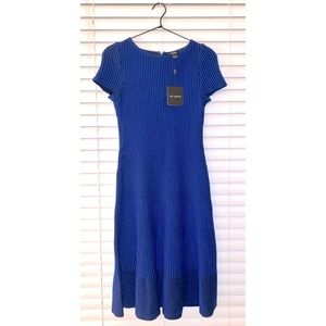 St. John collection Charlotte fit & flare dress